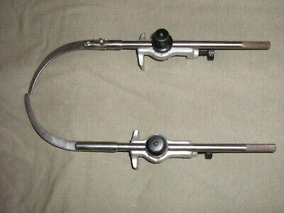 Micrometer Starrett Trammel No 59 Original Atholma Usa Used