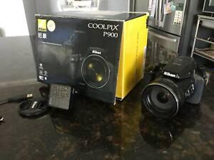 Nikon P900 83x optical zoom 24-2000mm