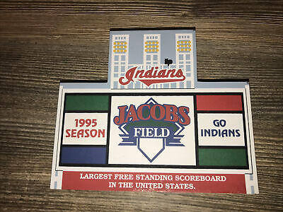 Cats Meow~CLEVELAND INDIANS~Jacobs Field~1995 Season~MLB