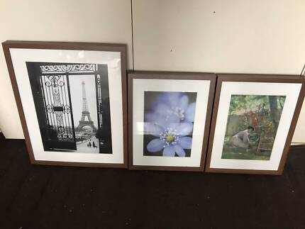 Three Ikea Ribba Picture Frames