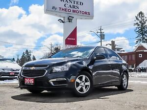 2015 Chevrolet Cruze 2LT | LEATHER | SUNROOF | CAMERA