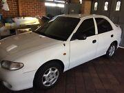 1997 Hyundai Excel LX 5D Hatchback 1.5 Ltr Sp Automatic East Victoria Park Victoria Park Area Preview