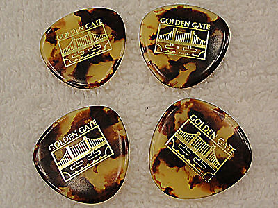 Golden Gate MP-12 Deluxe ROUNDED TRIANGLE MANDOLIN PICKS MADE IN Japan 4 PICKS