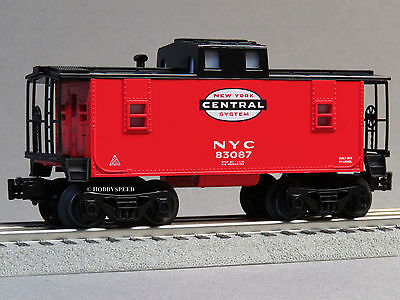 New York Rail System (LIONEL NEW YORK CENTRAL SYSTEM CABOOSE O GAUGE train nyc red 6-82984-C)