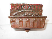 Vintage Advertising Match Holder