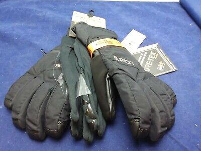 Burton Gore-Tex Under Glove True Black Medium New Gore Tex Under Glove
