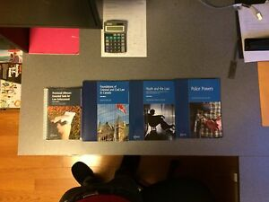 Police foundations 2nd year textbooks !
