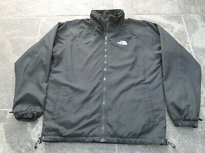 THE NORTH FACE REVERSIBLE BLACK JACKET SIZE L VERY GOOD CONDITION!!!!!!