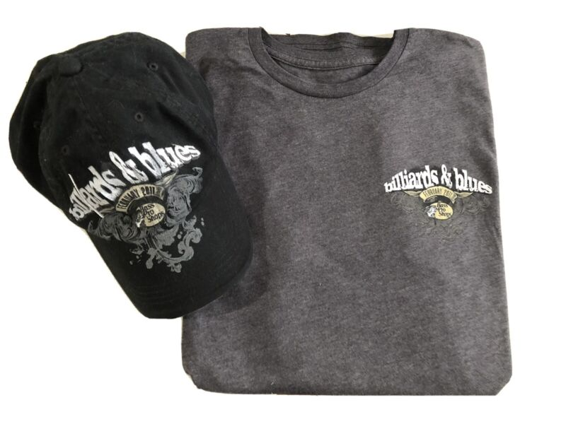 BB KING BLACK WIDOW BILLARDS & BLUES FEB 2011 Shirt And Ball Cap