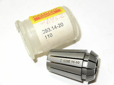 Sandvik 393.14-20110 Rotating Holder Er-20 Collet Size 20 11-10mm