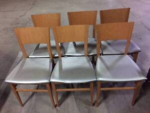 Wooden Dining chair set six-good condition North Strathfield Canada Bay Area Preview