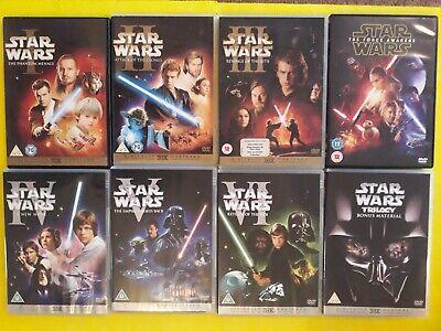 Star Wars Original Trilogy + Prequel Trilogy + Force Awakens DVD Bundle