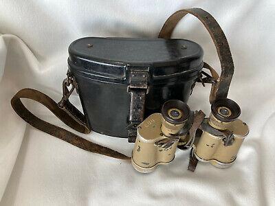 Vintage CAG 6x30 WWII Era Binoculars #98222 Dienstglas