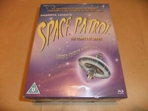 ROBERTA LEIGH SPACE PATROL COMPLETE SERIES 4 BLU RAY SET PLANET PATROL NEW