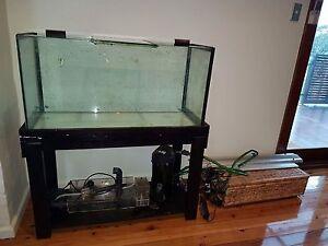 Fish tank , filter, skimmer , uv light Lugarno Hurstville Area Preview