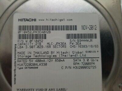 2TB SATA HGST Internal 7200RPM 3.5