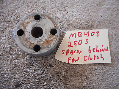 Mercedes Benz 250S W108 Aluminum Engine Cooling Radiator Fan Spacer Lüfter