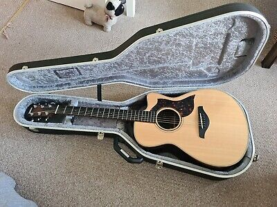 Yamaha AC3R Electro-Acoustic Guitar with Hard Case Worth £713