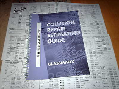 OEM part number guide Nissan Bluebird 1986 - 90