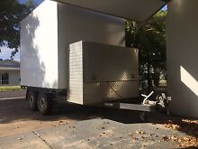 3t Deck Trailer with tool box and enclosed canopy Gunn Palmerston Area Preview
