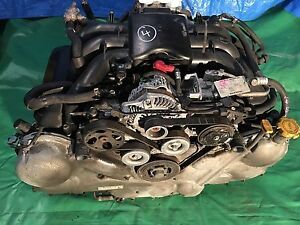 Subaru Legacy and Outback 3.0L engine available