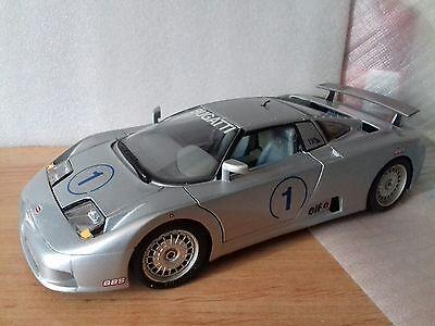 bugatti 110 EB 1/18 burago maqueta coche made in italy con defectos segunda mano  San Juan de la Rambla