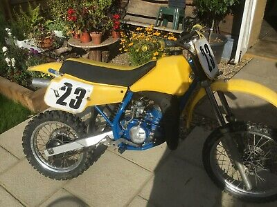 Suzuki RM80 Yellow Trials Motorbike Spares or Repair