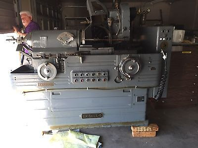 Excello 39 Id Thread Grinder Excellent Condition. With Lead Screws Long Arm Cam