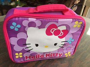 Baby toddler kids Hello Kitty Lunch Bag in new condition