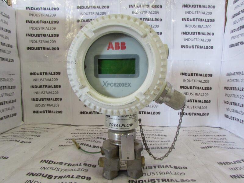 ABB TOTALFLOW FLOW METER XFC6200EX USED