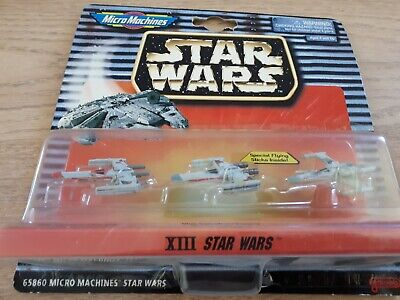 Star Wars Micro Machines XIII X Wing Fighter set