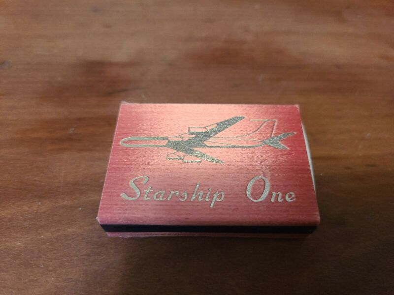 Vintage  Matchbox From Starship One Touring Jet 1970s Rolling Stones