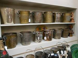 ANTIQUE VINTAGE FRENCH CHAMPAGNE ITEMS - MOET WINE BUCKETS ETC Botany Botany Bay Area Preview