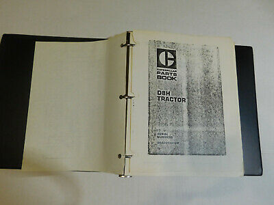 Caterpiller Dozer D8h Heavy Equipment Parts And Service Book