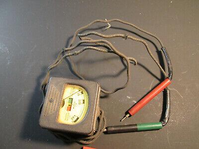 Antique Triplett Acdc Voltage Tester Model 337-av