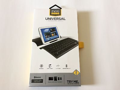 Used, Zagg keys Universal keyboard Case + Stand Ultra-Slim Long Battery Life - NEW for sale  Shipping to India