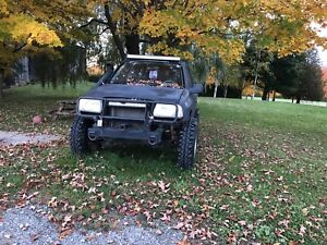 Chevy tracker off road only (reduced)