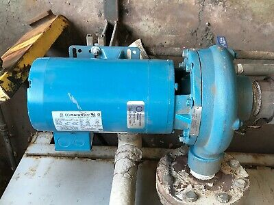 Industrial Water Boiler Pump 3 Hp 240v Cast Iron 2 Inch Discharge 2.5 Inlet
