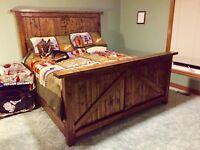 Rustic King Sized Bed Frame