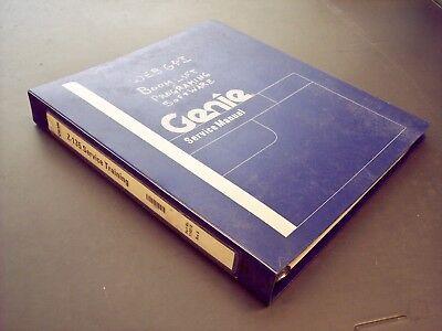 Genie Z-135 Service Training Manual With Cd-rom 114018
