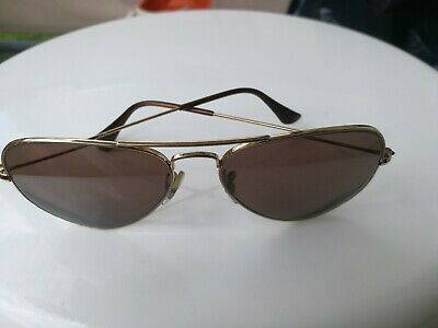 RAY BAN Pilotenbrille Aviator Goldfarbig BAUSCH & LOMB/USA/I Vintage ()