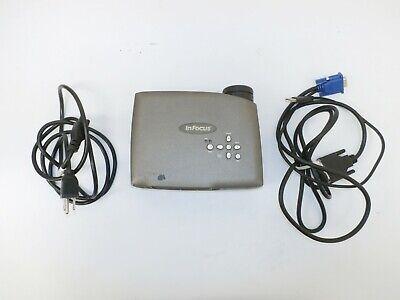 InFocus LP70 Portable XGA Portable Projector DLP, 418 Lamp Hours