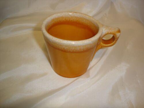 VINTAGE  HULL TANGERINE ORANGE DRIP COFFEE CUP