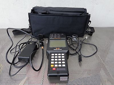 Sunrise Telecom Sunset Sts-1 Handheld Sonet Test Set Waccessories