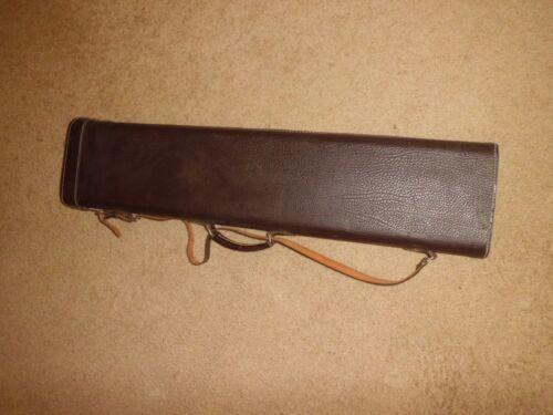 "Vintage Leather Rifle Gun Case 35""x7-1/2"""