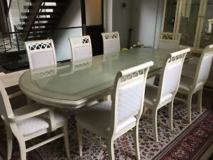 Dining Room set (including buffet& bar& table& 8 chairs)