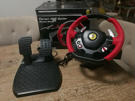 Xbox One Thrustmaster 458 Spider Racing Wheel