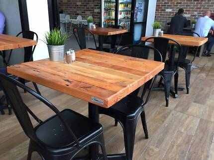 Recycled Timber /Cafe and Restaurant Table Tops SALE ON NOW