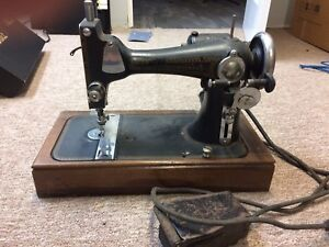 Antique sewing machine National Sewing Co