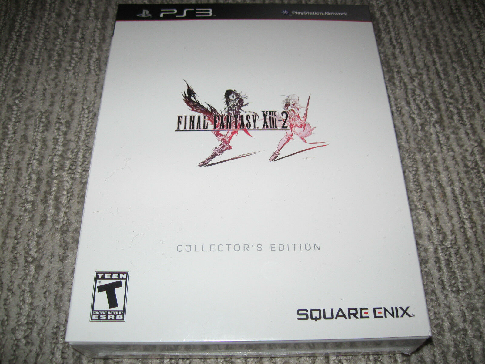 Final Fantasy Xiii-2 Limited Collector's Edition Game Son...